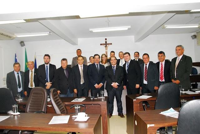 Câmara recebe o deputado Lucas Vergilio que anuncia emenda para Anápolis