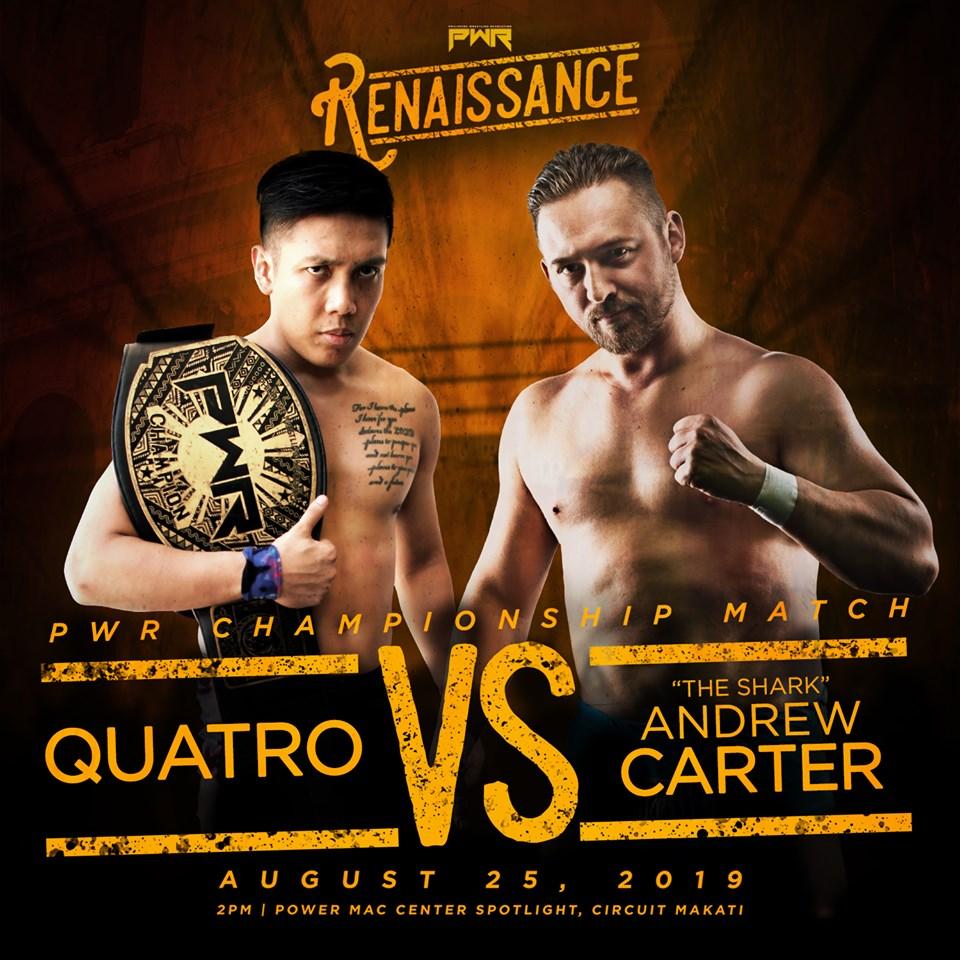 PWR Renaissance Predictions: Quatro vs. Andrew Carter