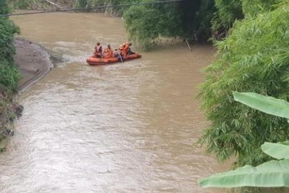 Tim SAR gabungan  susuri sungai di Trenggalek cari kakek hilang