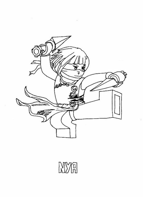 ausmalbilder ninjago garmadon