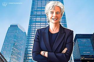 رئيسة صندوق النقد الدولي كريستين لاغارد تشجع التنظيم المفتوح للعملات المشفرة