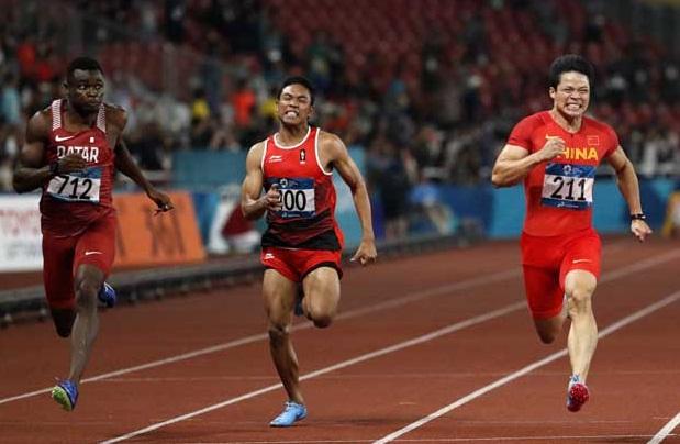Lalu Muhammad Zohri Optimis Hadapi Kejuaraan Dunia di Doha