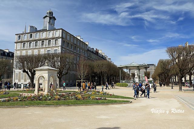 Plaza Real de Pau, Francia