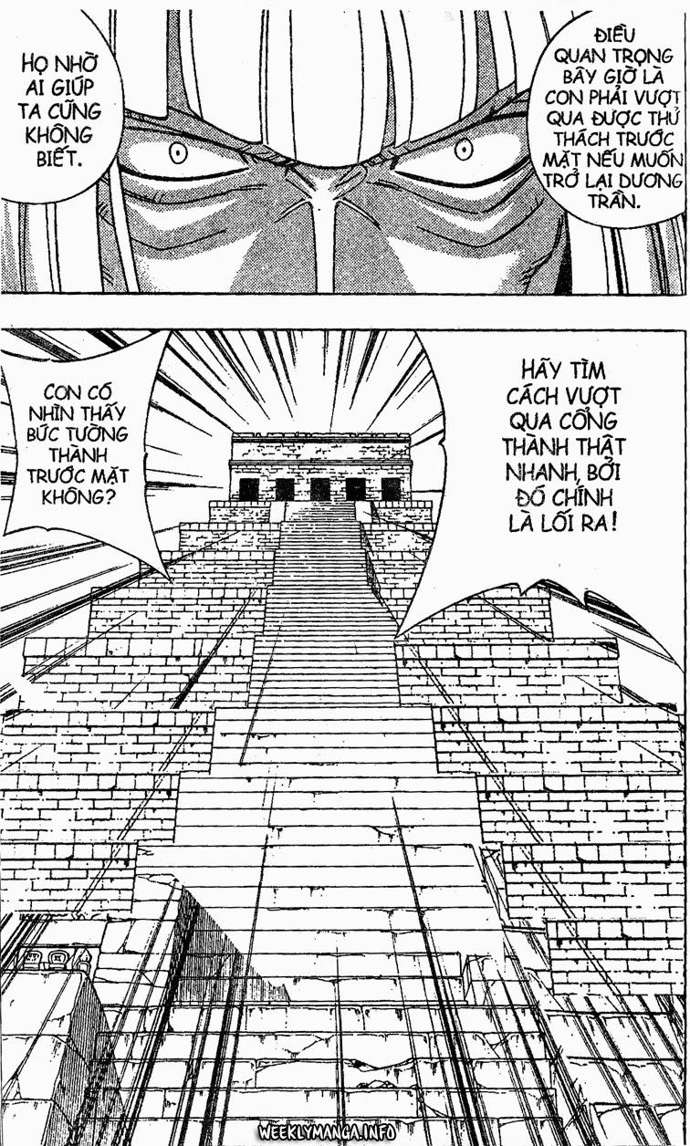 Shaman King [Vua pháp thuật] chap 195 trang 10
