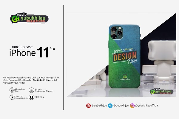Mockup iPhone 11 Pro By gubukhijau