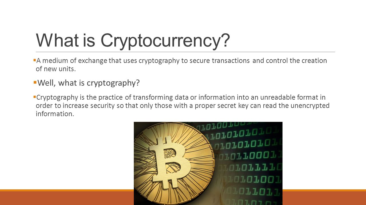 Why do we use cryptocurrency