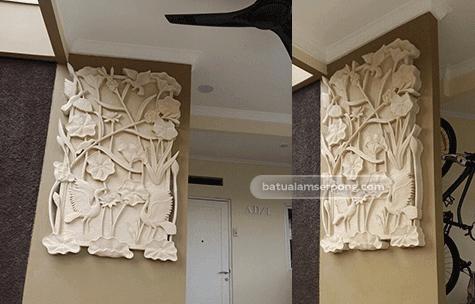 relief batu alam semarang