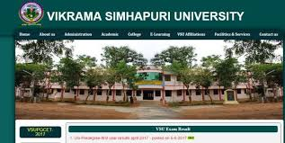 Manabadi VSU Degree 6th Sem Results 2019