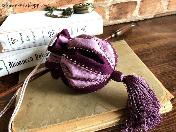 бисерная сумочка Гермионы своими руками