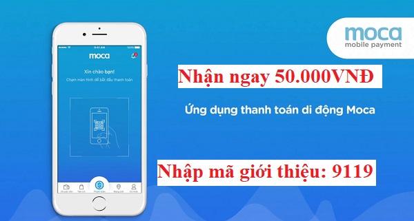 Nhận ngay thẻ 50.000 MIỄN Phí cho người dùng Android và IOS