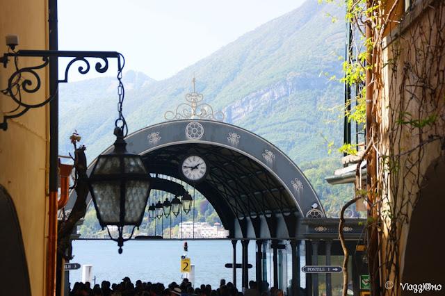 Imbarcadero in stile Bell'Epoque a Bellagio