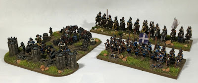 1st place: 30YW French, by bradpitre - wins £20 Pendraken credit, and a copy of the new 'Paints' magazine from Wargames Illustrated!