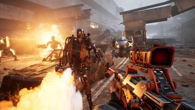 Terminator Resistance is a grandiose shooter, the events of which unfold during the War of the Future