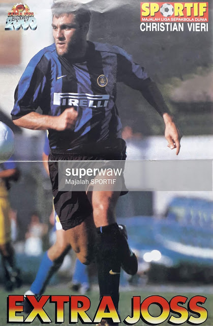 CHRISTIAN VIERI OF INTER MILAN 1999