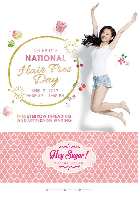Hey Sugar Waxing Salon National Hair Free Day