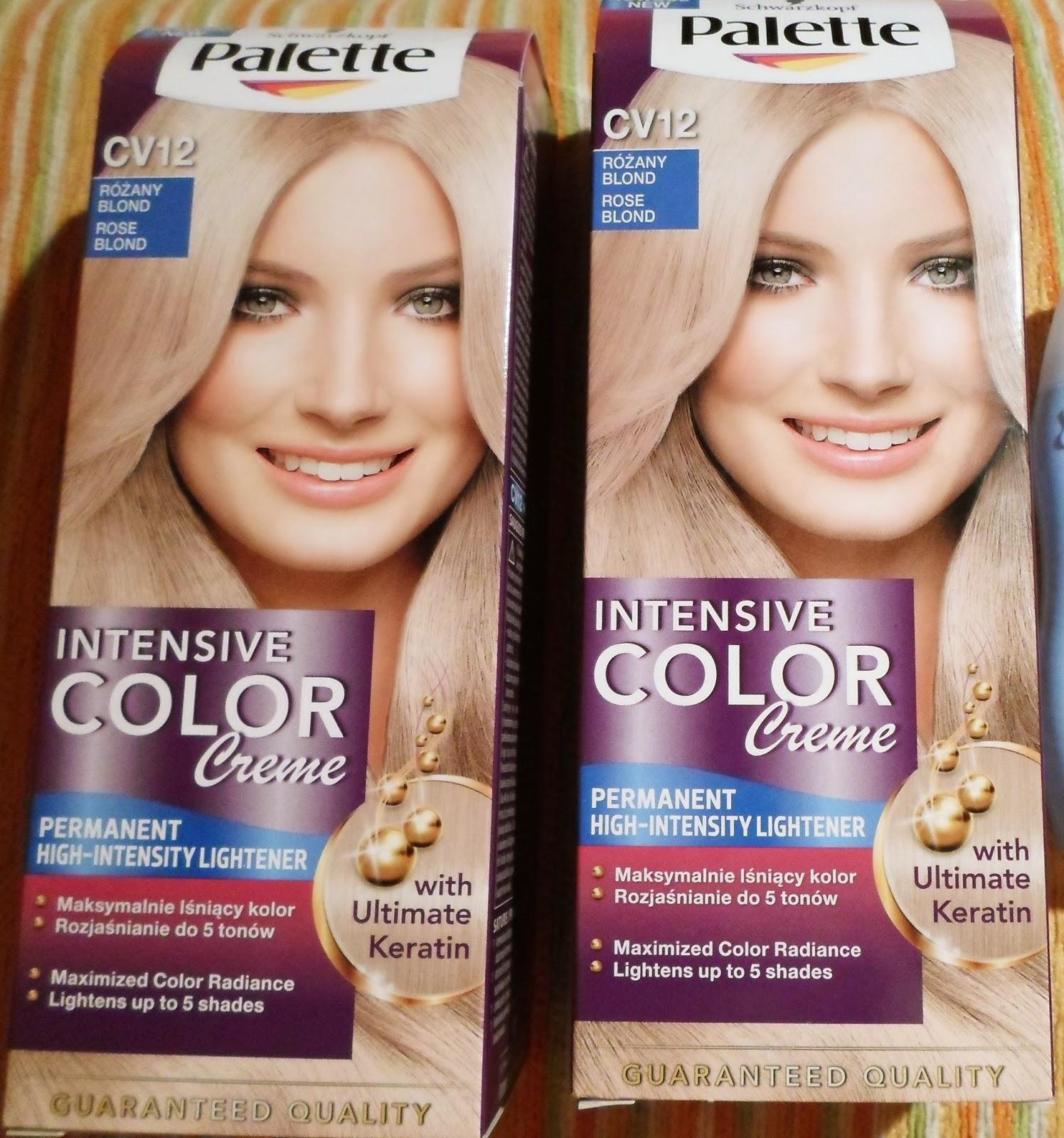 Kosmetyczne Fanaberie Palette Intensive Color Creme Cv12 Rozany Blond