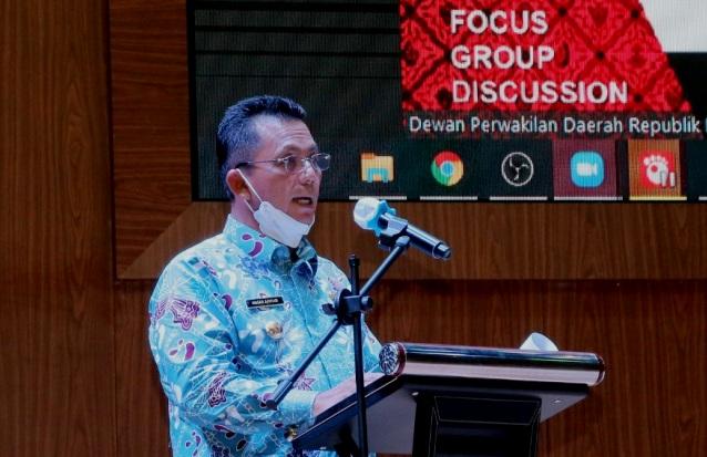 Hadiri FGD RUU Daerah Kepulauan, Gubernur Kepri Harap Segera Disahkan