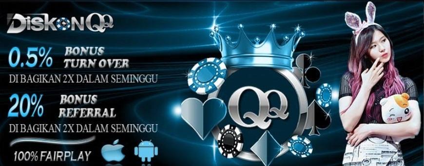 DiskonQQ Agen Dominoqq Dan Poker Online Juga Bandar Q Terpercaya
