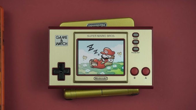 Nintendo Game & Watch 2020 Super Mario, analysis and opinion