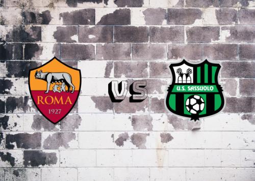 Roma vs Sassuolo  Resumen y Partido Completo
