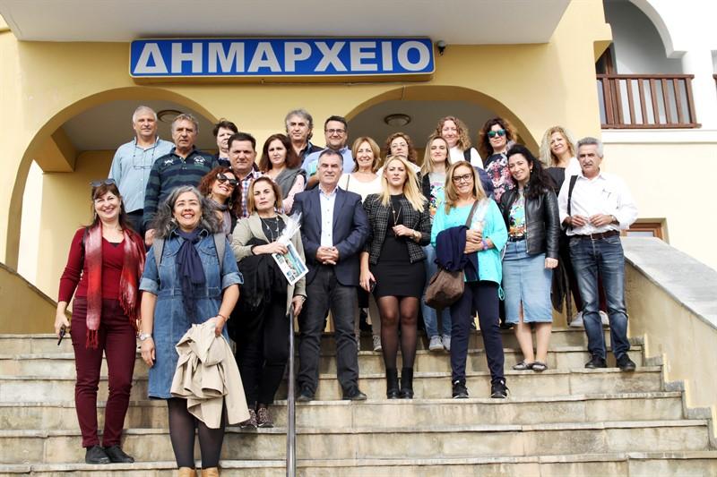 Erasmus+ επίσκεψη στο Δήμο Σιθωνίας