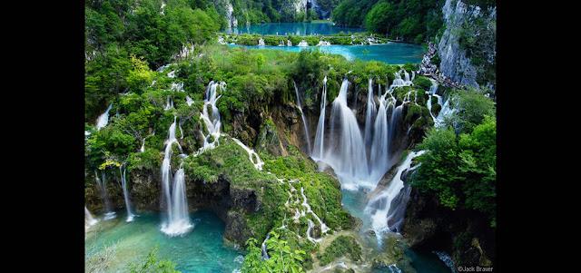 جولة سياحية أجمل البلاد مستوى العالم كرواتيا بليتفيتش Plitvice-Waterfalls-at-Plitvicka-Jezera-National-Park.jpg
