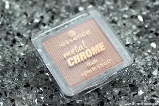 Review: 13 essence Update Produkte - Metal Chrome Blush - www.annitschkasblog.de