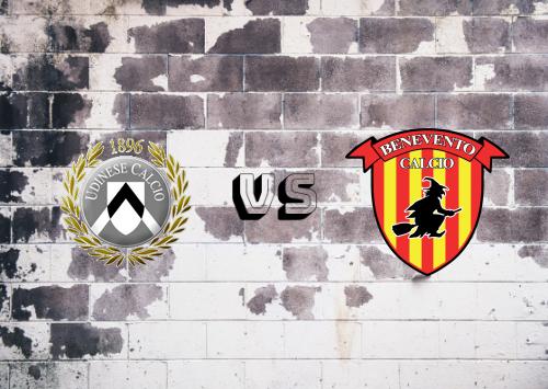 Udinese vs Benevento  Resumen