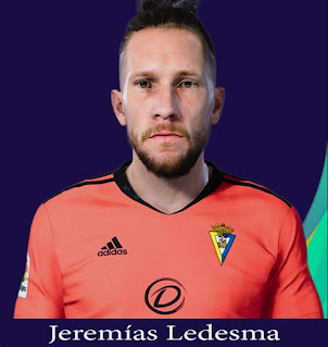PES 2021 Faces Jeremias Ladesma by Rachmad ABs
