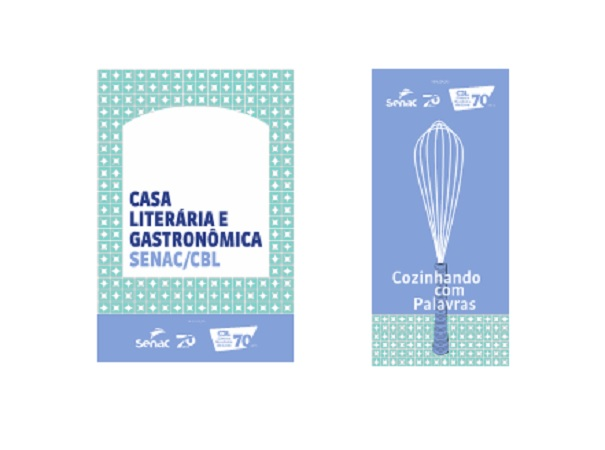 Casa Literária e Gastronômica Senac/CBL une cultura e gastronomia na Flip