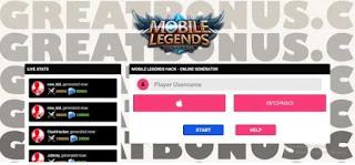 Generator Diamond ML Mobile Legend Tanpa Verifikasi