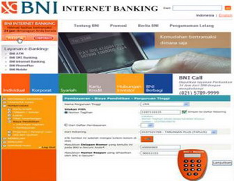 BALI SERVICE COMPUTER: BNI Internet Banking