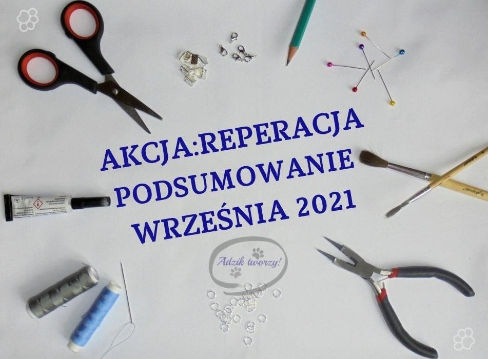 Akcja:Reperacja u Adzika podsumowanie wrzesień 2021