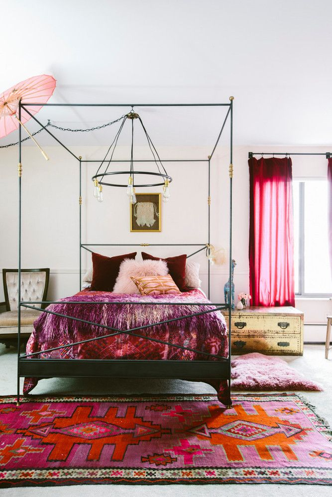 Pink and Red Interiors Done Right