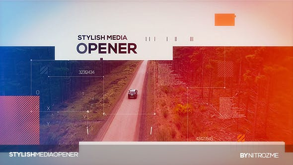Videohive Stylish Media Opener 20420186