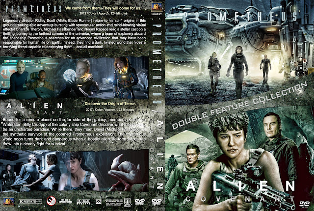 Prometheus / Alien Covenant Collection DVD Cover