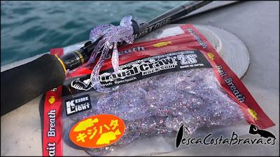 bait breath virtual craw major craft crostage pesca costa brava jjpescasport 2 - SARGOS con CANGREJO de vinilo