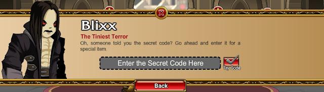 AQW Special Codes Blixx