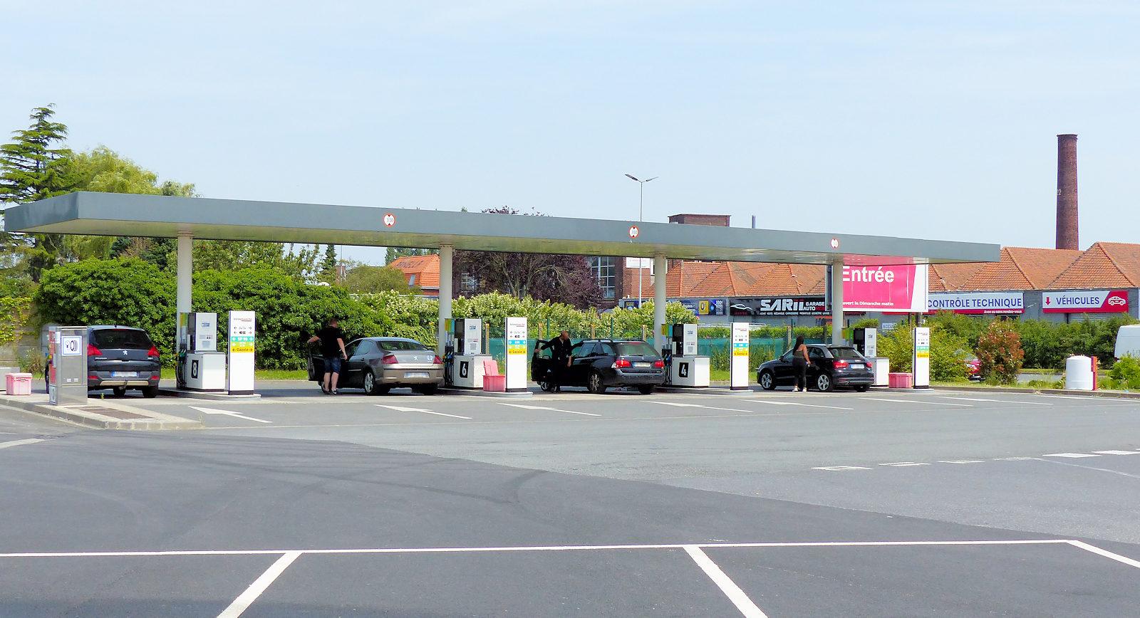 Station Essence - Intermarché Super et Drive, Tourcoing