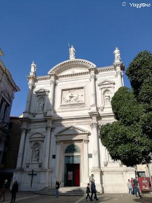 Chiesa di San Rocco nel sestiere di San Polo