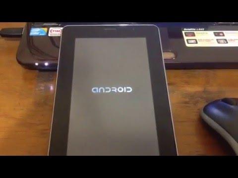 Cara Hard Reset Tablet Android Advan T1D