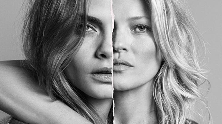 Kate Moss ve Cara Delevingne