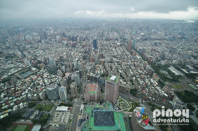 Where is the best view of Taipei 101 Taipei Taiwan