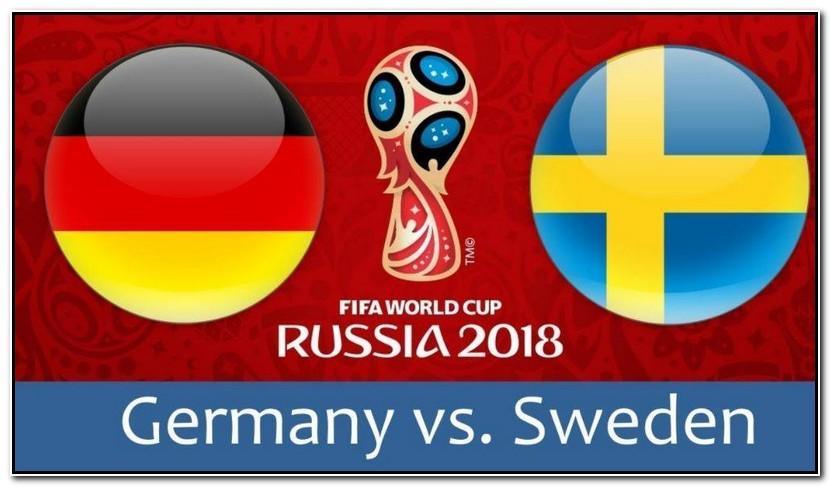 Streaming Online Piala Dunia 2018 Live Jerman Vs Swedia Streaming