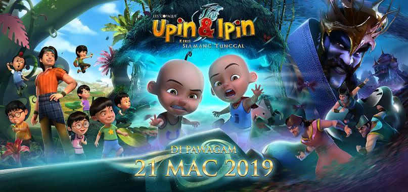 Upin & Ipin: Keris Siamang Tunggal (2019) WEBDL