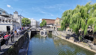 Londres, Candem Town. Regent's Canal.