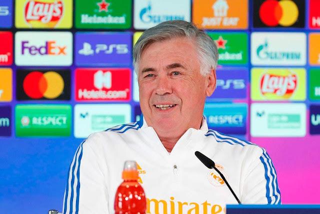 أنشيلوتي: لن أدرب برشلونة، ومبابي سوف يستمتع في ريال مدريد