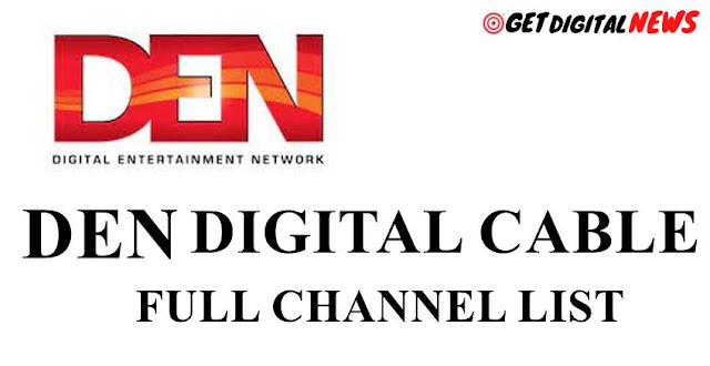 DEN Digital Cable TV Channels List in India [2021] Updated