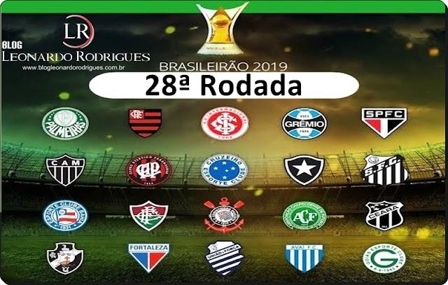 CAMPEONATO BRASILEIRO - 28ª RODADA