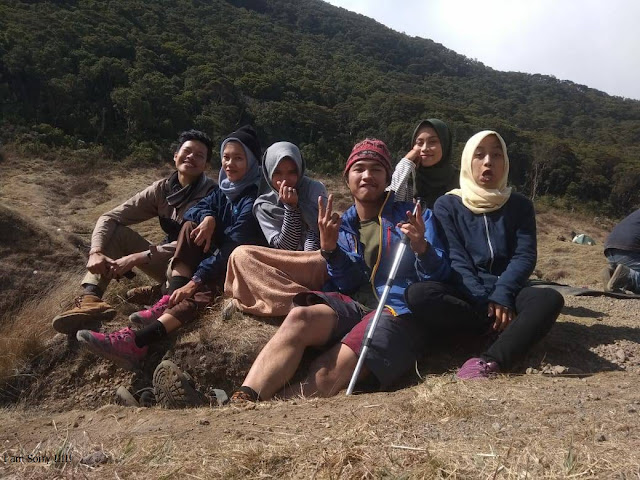 open trip pendakian